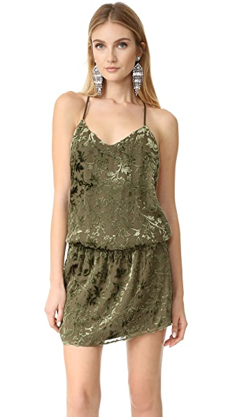 Haute Hippie Mirage Mini Dress - Military