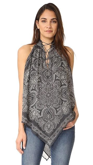 Haute Hippie Handkerchief Top