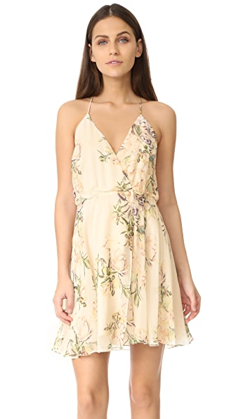 Haute Hippie Wrap Front Racer Back Dress
