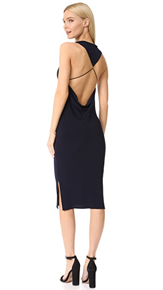 Haute Hippie Hold Me Tight Dress In Midnight