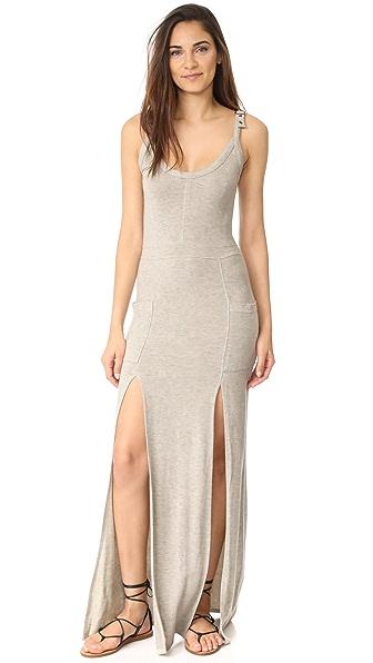 Haute Hippie Riveter Overall Dress