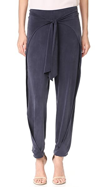 Haute Hippie Front Tie Harem Pants at Shopbop