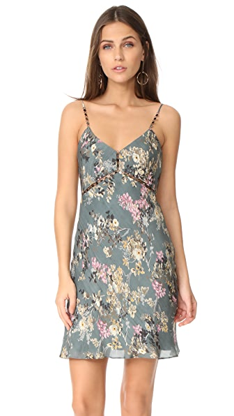 Haute Hippie Chain Cami Slip Dress - Luxe Lisbon
