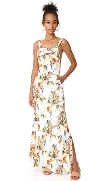 Haute Hippie Overall Gown - Mini Summer Garden