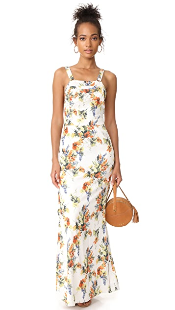 Haute Hippie Overall Gown