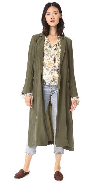 Haute Hippie Demi Coat