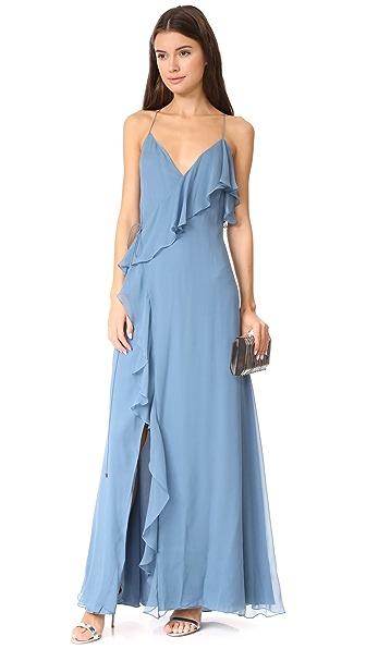 Haute Hippie Metamorphosis Wrap Dress