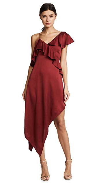 Haute Hippie All You Need is Love Asymmetrical Dress