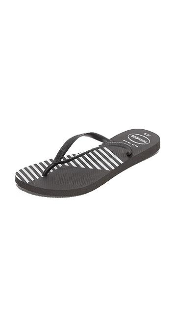 Havaianas Slim Colorblock Flip Flops