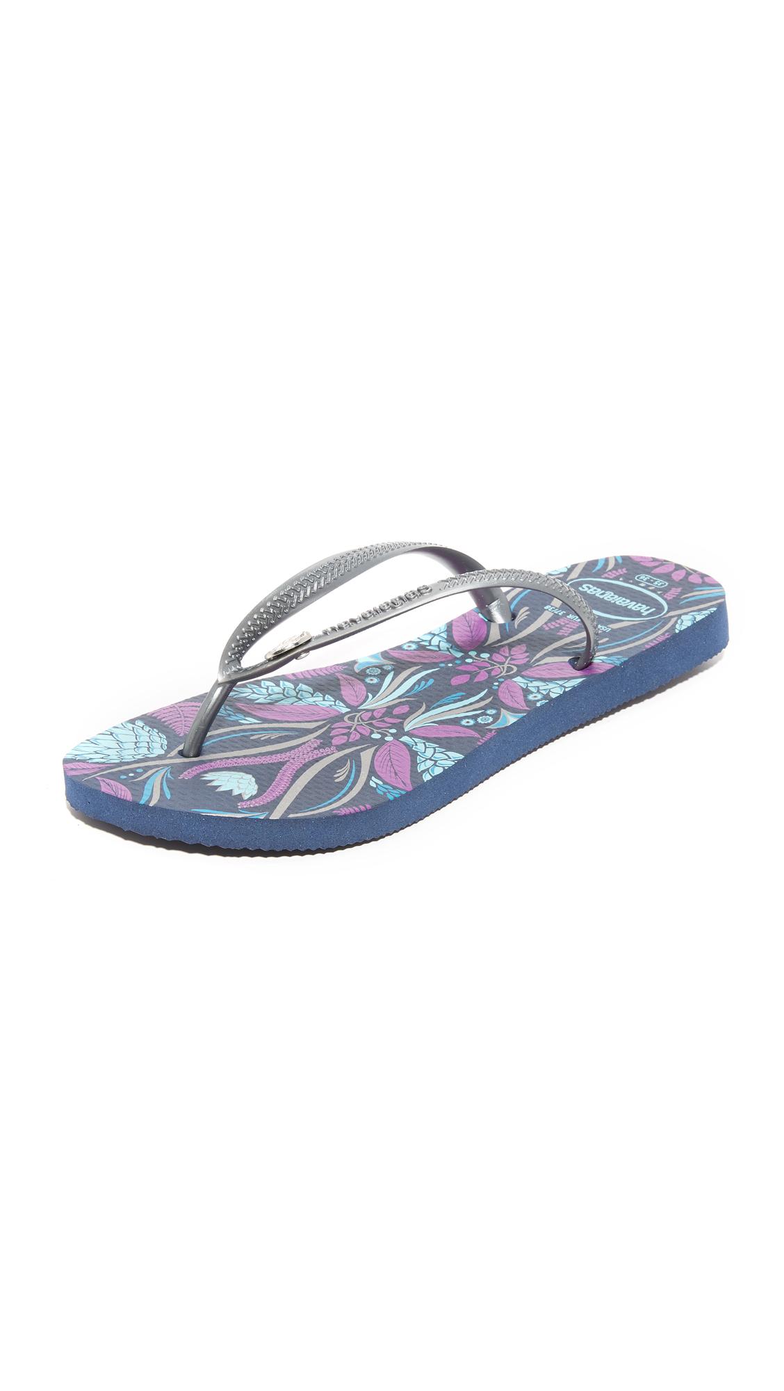 Havaianas Slim Royal Flip Flops - Navy Blue at Shopbop