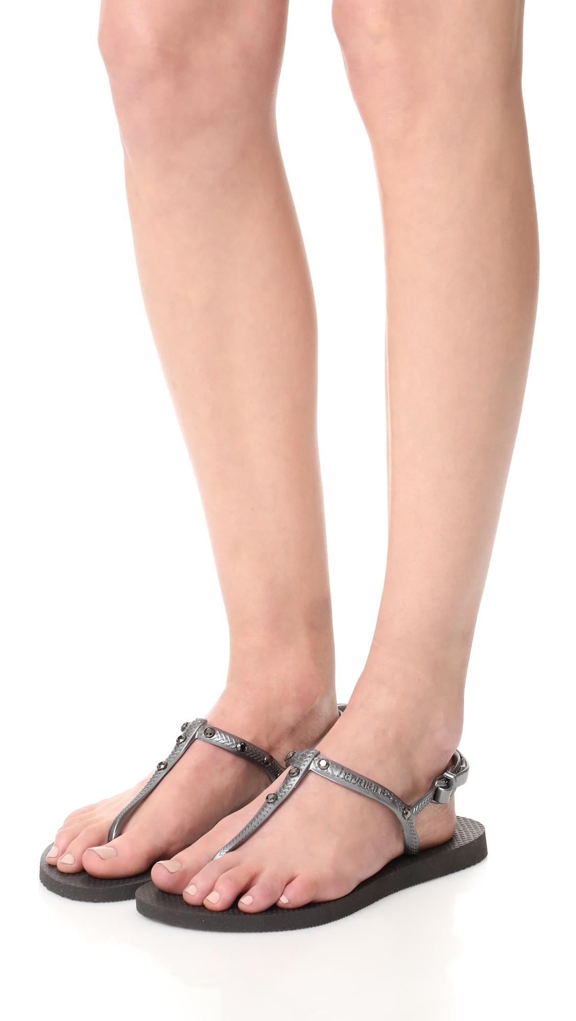 1549f4a263f3ae Havaianas Freedom Crystal Sandals