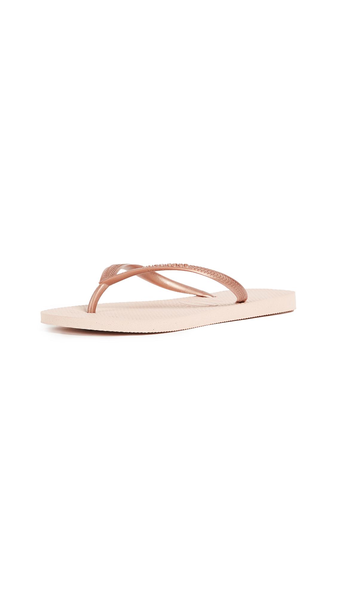 Havaianas Slim Flip Flops - Ballet Rose