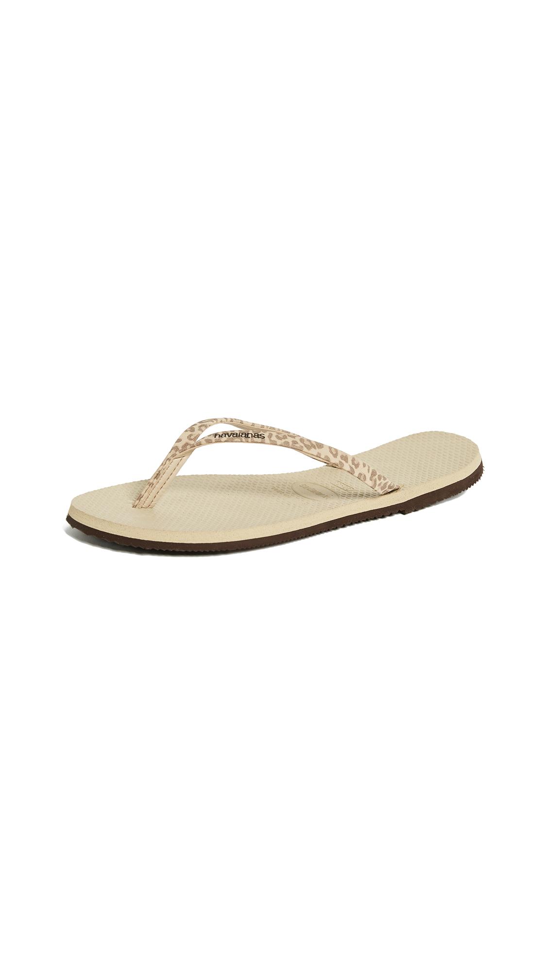 Havaianas You Animals Flip Flops - Sand Grey