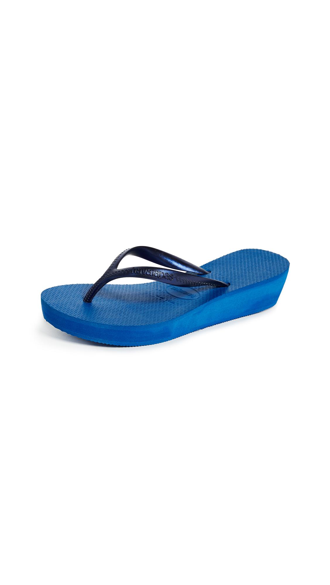 Havaianas High Light Flip Flops - Blue