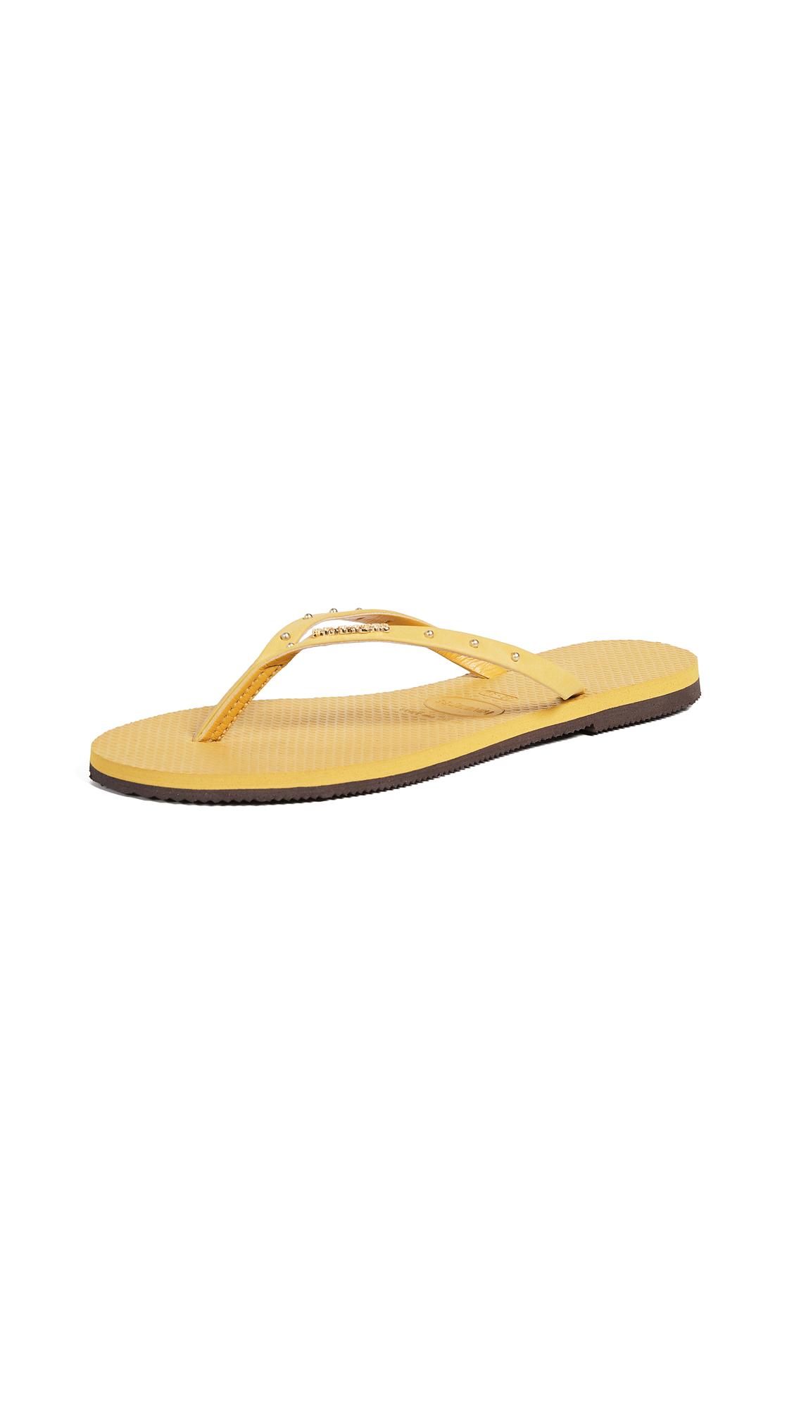 Havaianas You Maxi Flip Flops - Mustard
