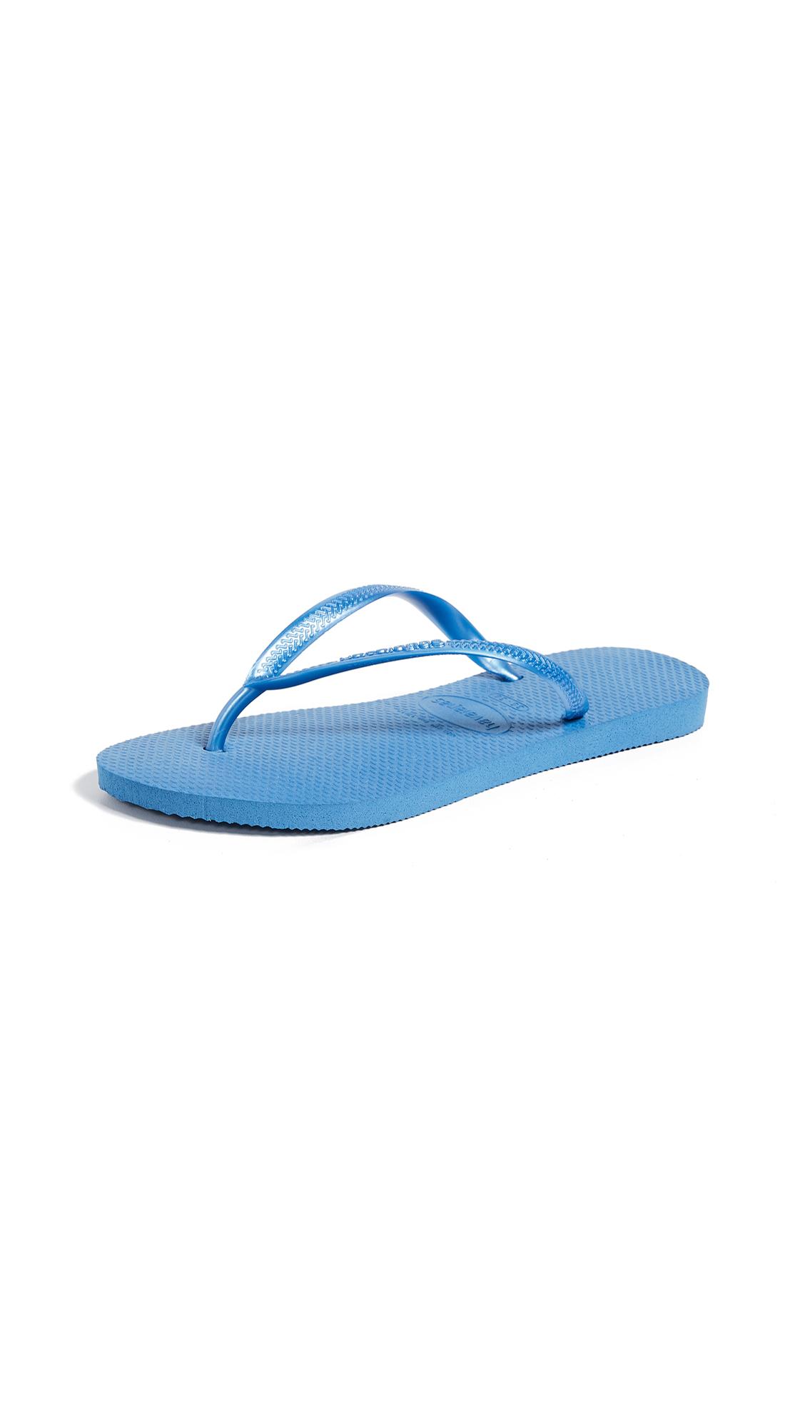 Havaianas Slim Flip Flops - Blue