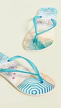 493218b71148ac Havaianas. Slim Paisage Flip Flops