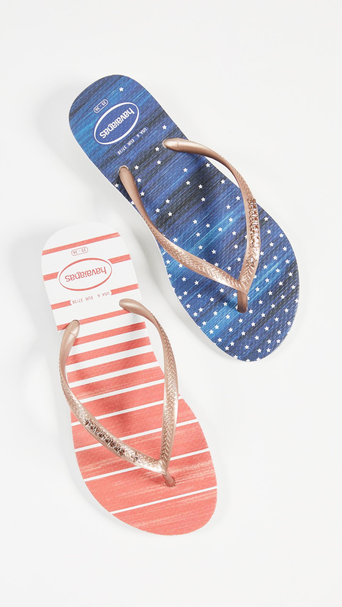 07160ff50908 Havaianas Slim Watercolor Flip Flops