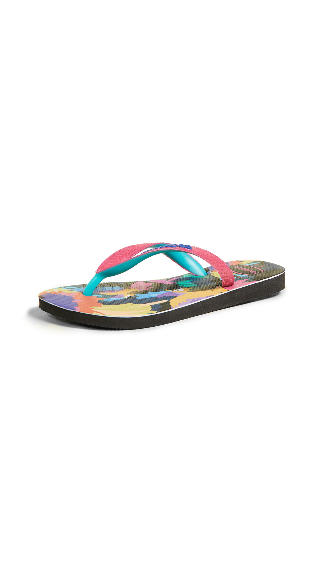 Havaianas Fashion Flip Flops - Black