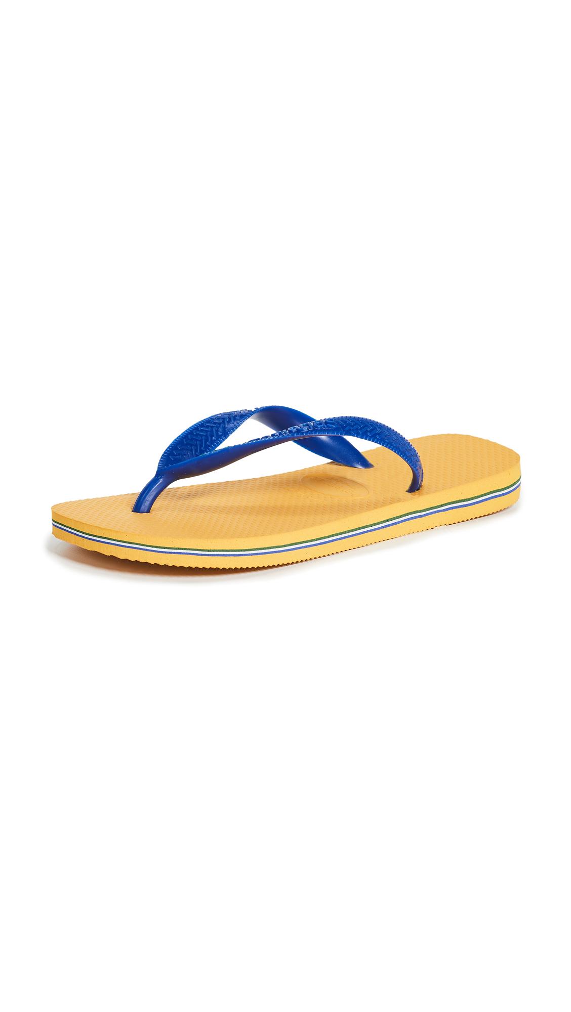 Havaianas Brazil Flip Flops - Banana Yellow