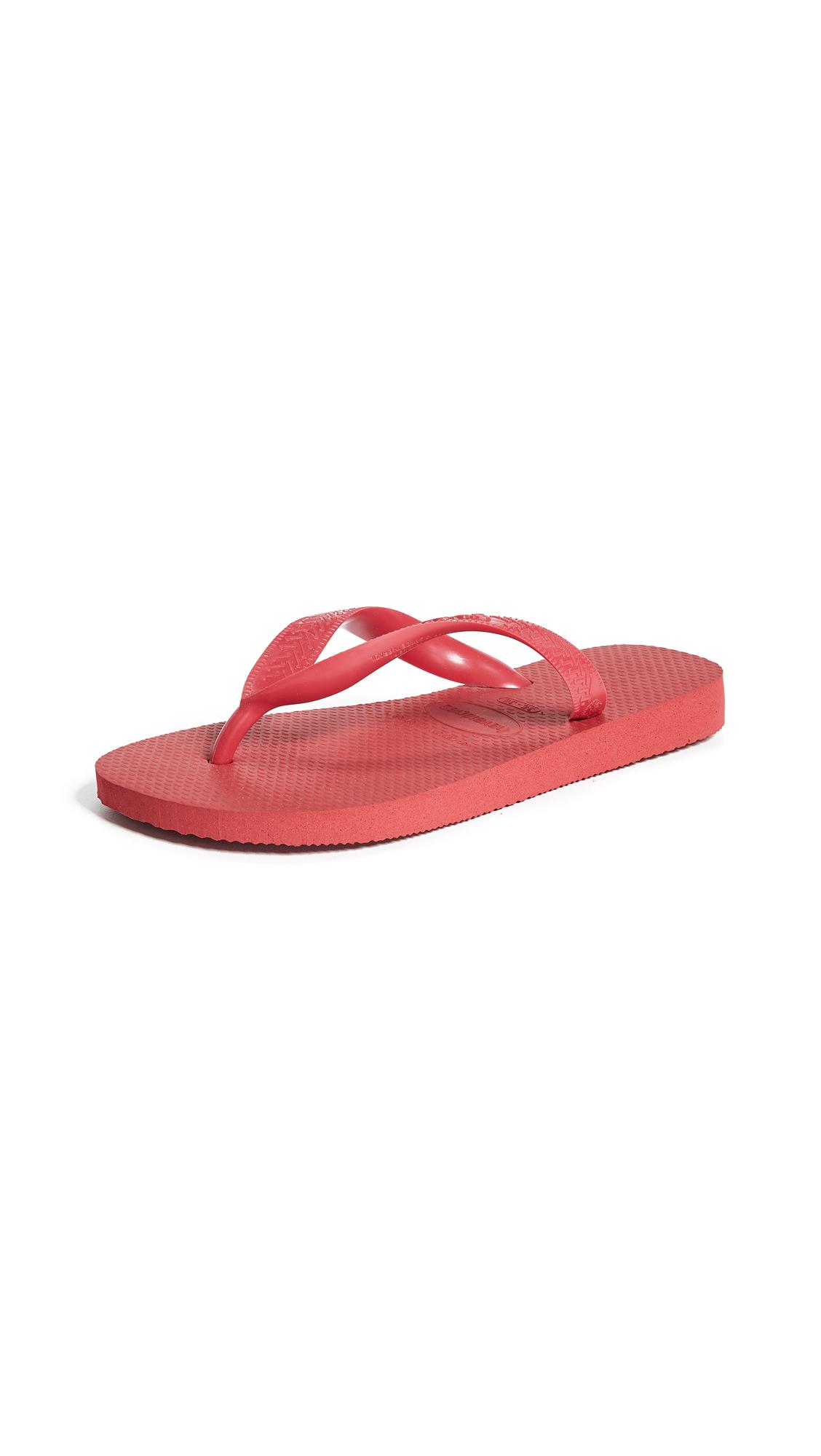 Havaianas Core Flip Flops - Ruby Red