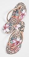 Havaianas 纤巧动物花卉夹趾凉鞋