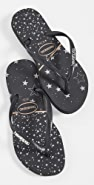 Havaianas 纤巧徽标金属色夹趾凉鞋