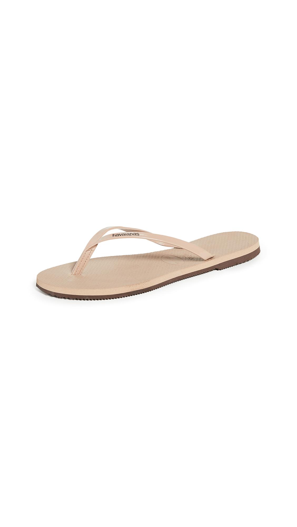 Buy Havaianas You Metallic Flip Flops online, shop Havaianas