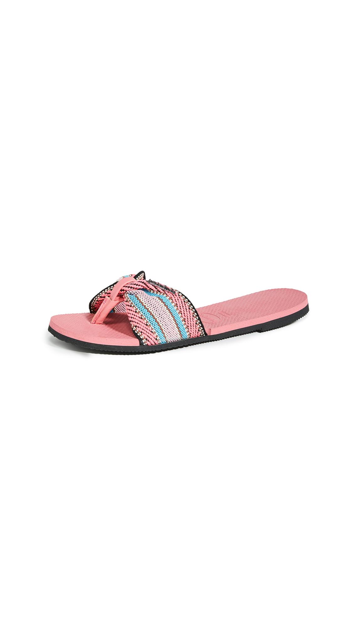 Buy Havaianas You St. Tropez Fita Flip Flops online, shop Havaianas
