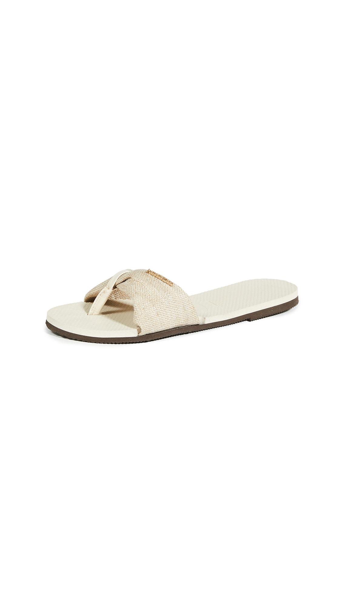 Buy Havaianas You St. Tropez Material Flip Flops online, shop Havaianas
