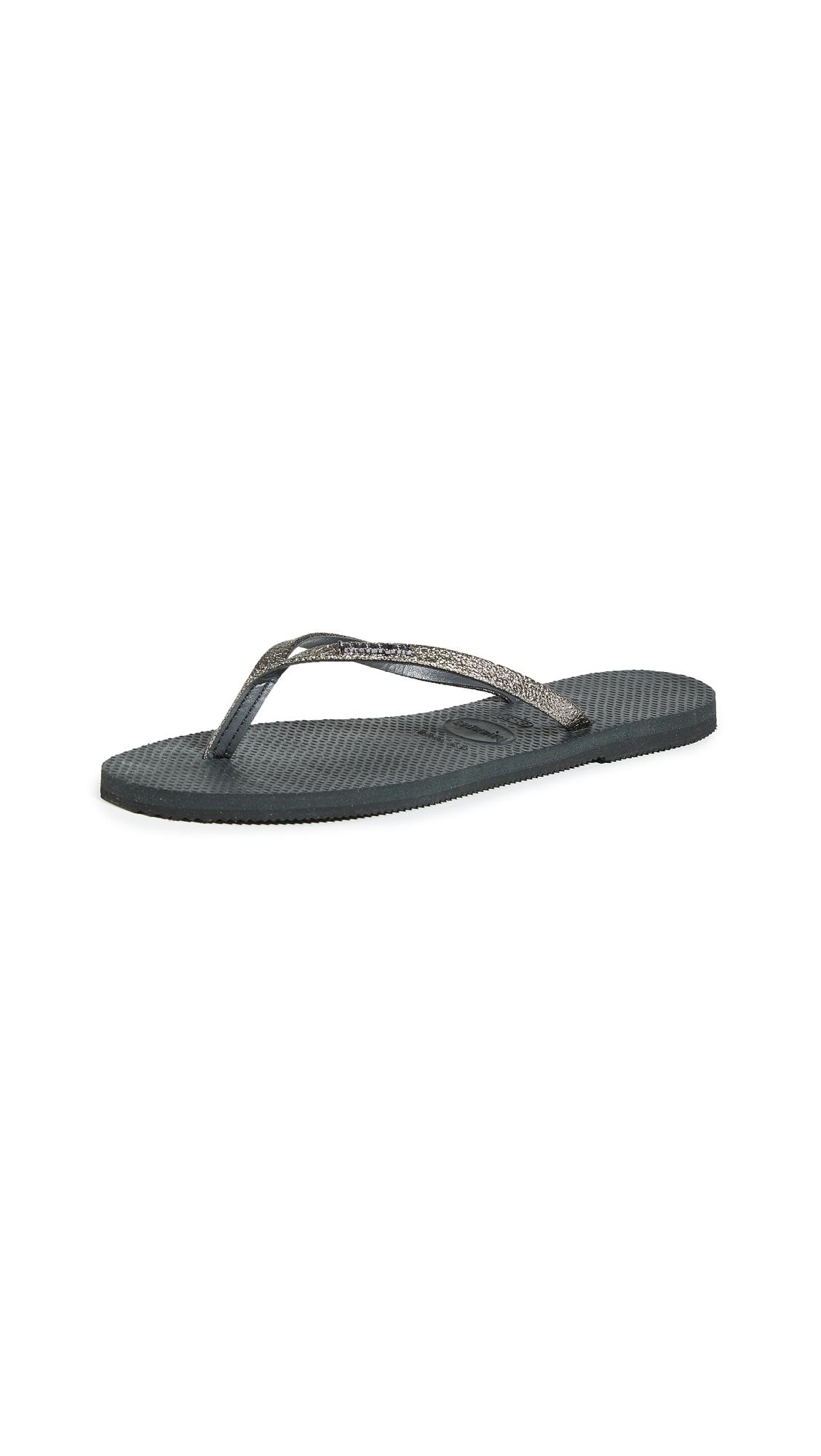 Buy Havaianas You Shine Flip Flops online, shop Havaianas