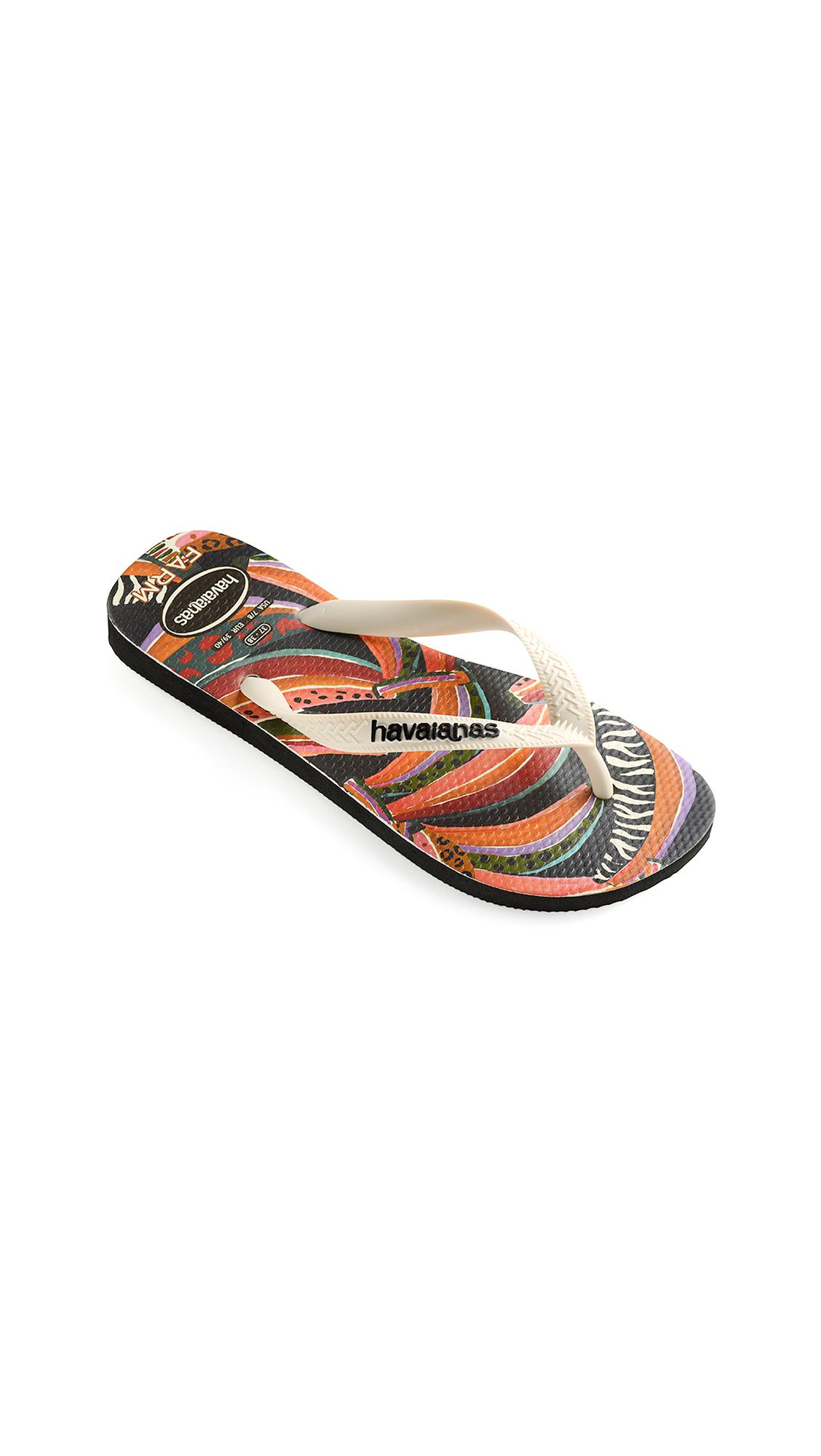 Buy Havaianas x Farm Rio Bananas Sandals online, shop Havaianas