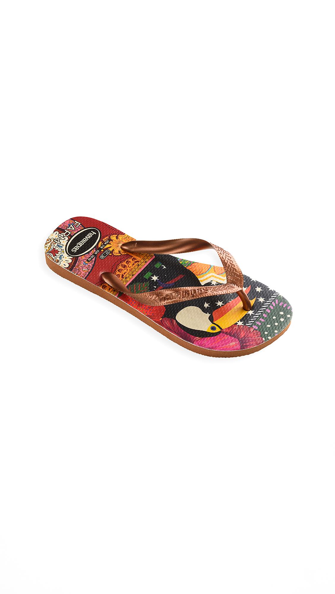 Buy Havaianas x Farm Rio Toucan Sandals online, shop Havaianas