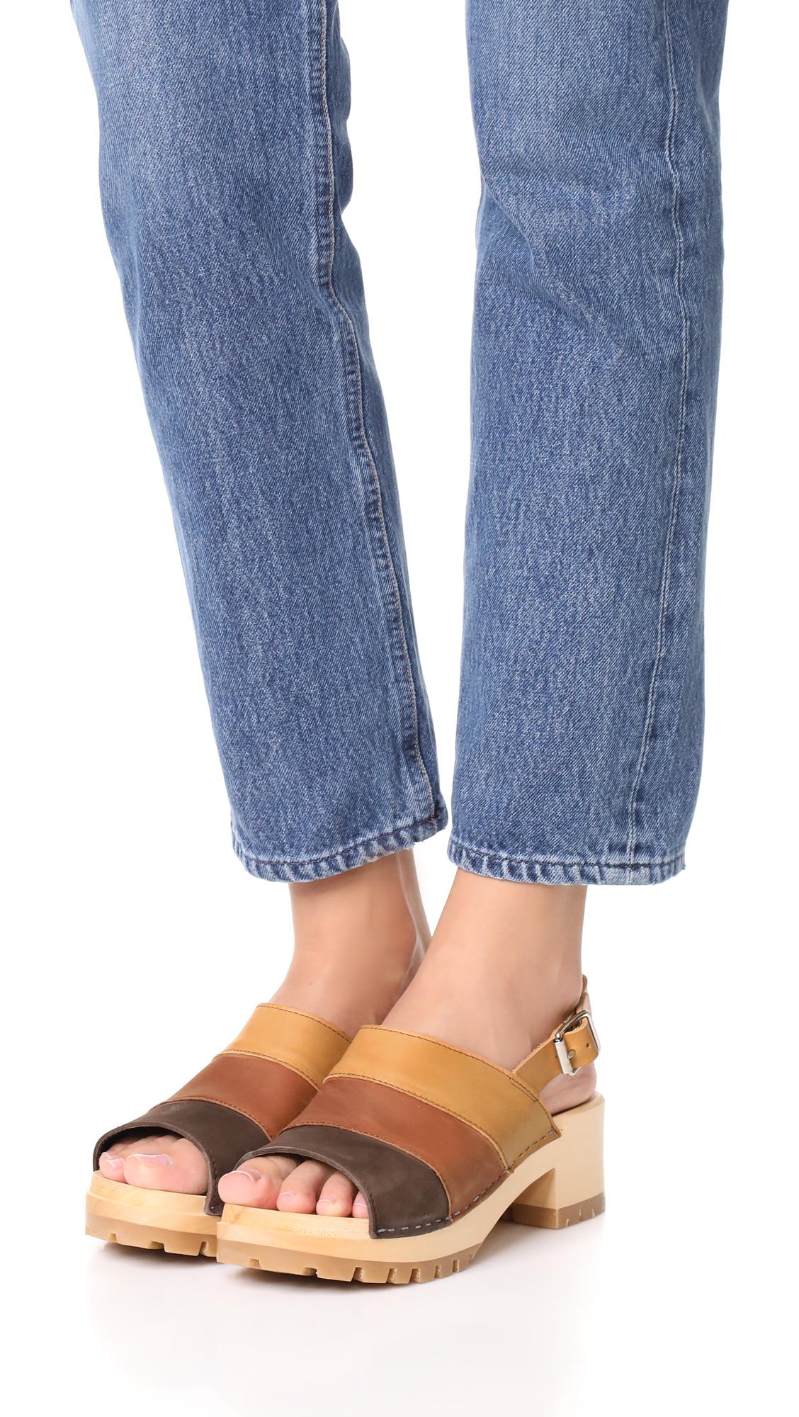 6a7e843e26c Swedish Hasbeens Hippie Sandals