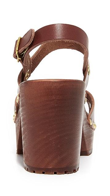 Swedish Hasbeens Lisa Platform Sandals