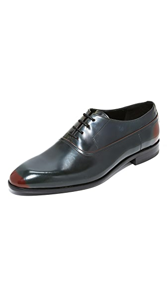 HUGO Three Tone Brush Off Lace Up Derbys