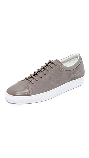 HUGO Brush Off Cap Toe Sneakers