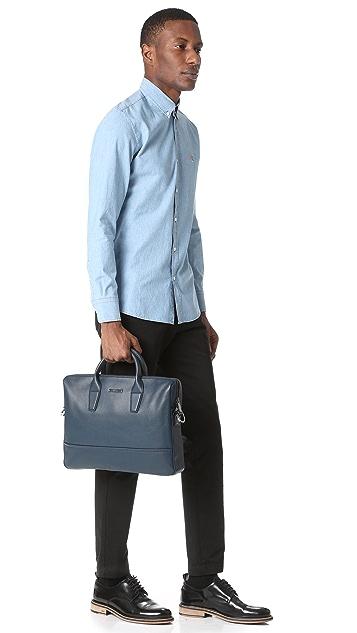 HUGO Leather Briefcase
