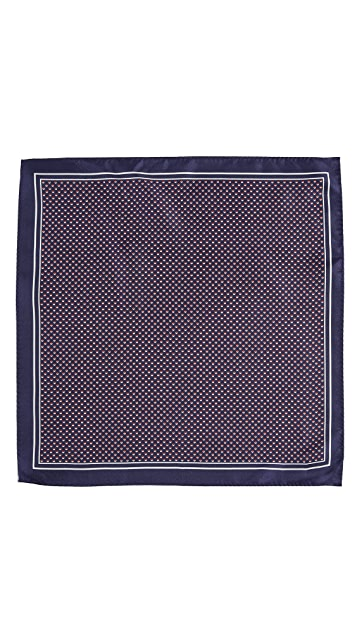 HUGO Dots Pocket Square