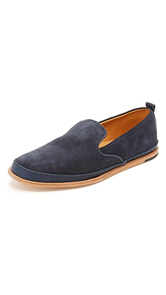 H by Hudson Macuco Suede Slippers