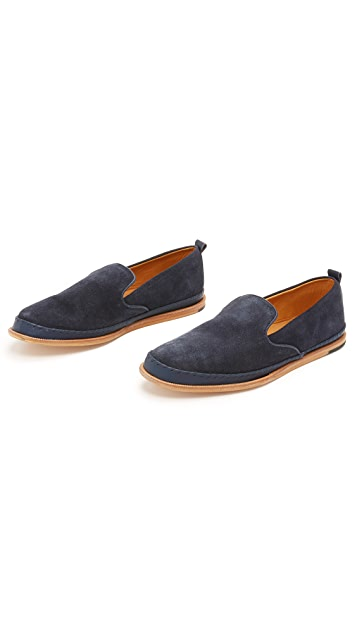 Hudson London Macuco Suede Slippers