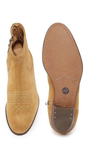 Hudson London Wyman Zip Boots