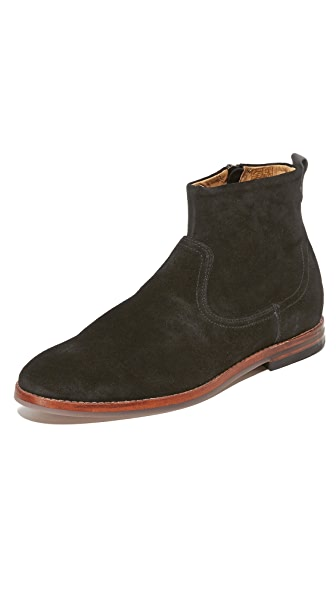 Hudson London Lancing Suede Zip Boots