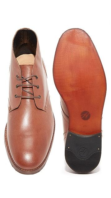 Hudson London Houghton 2 Leather Chukka Boots