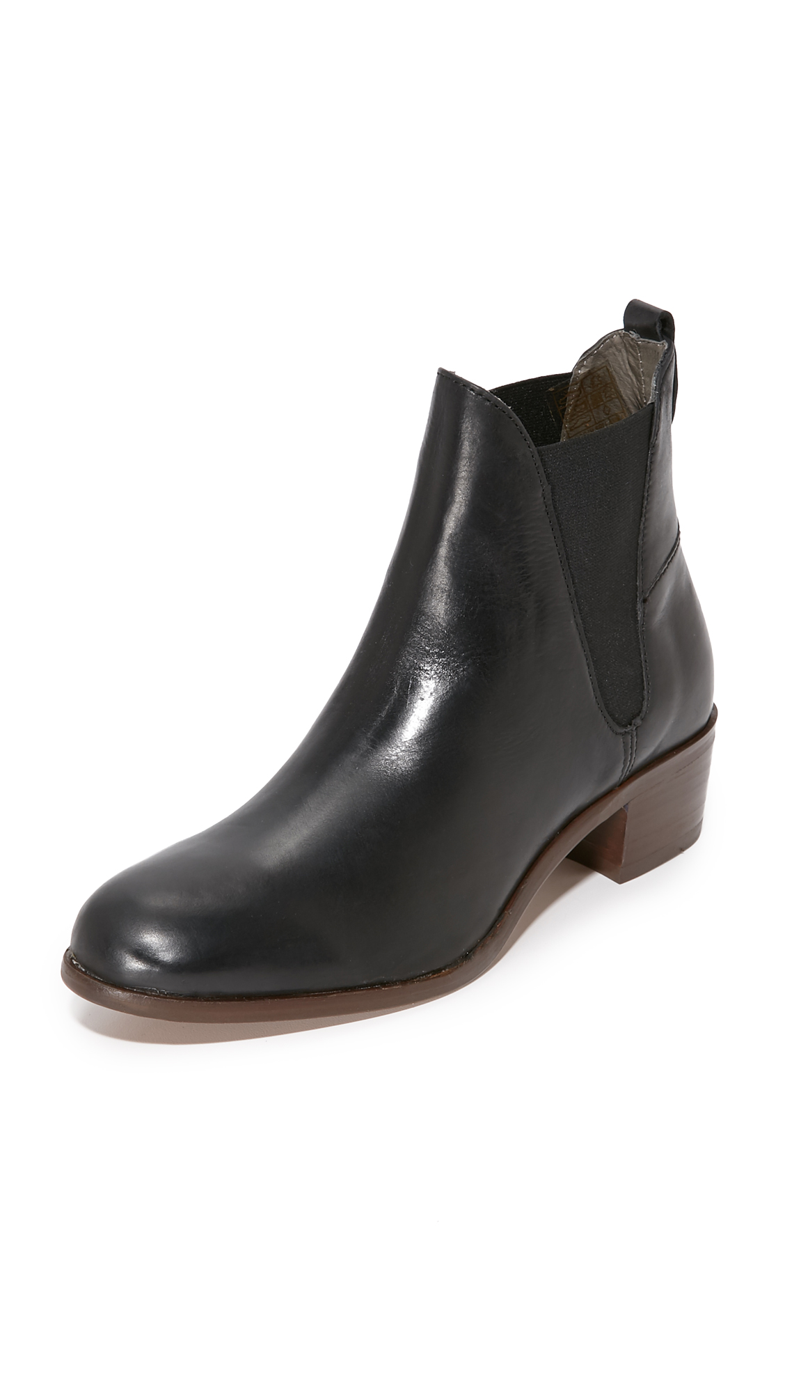 H By Hudson Compound Booties - Black