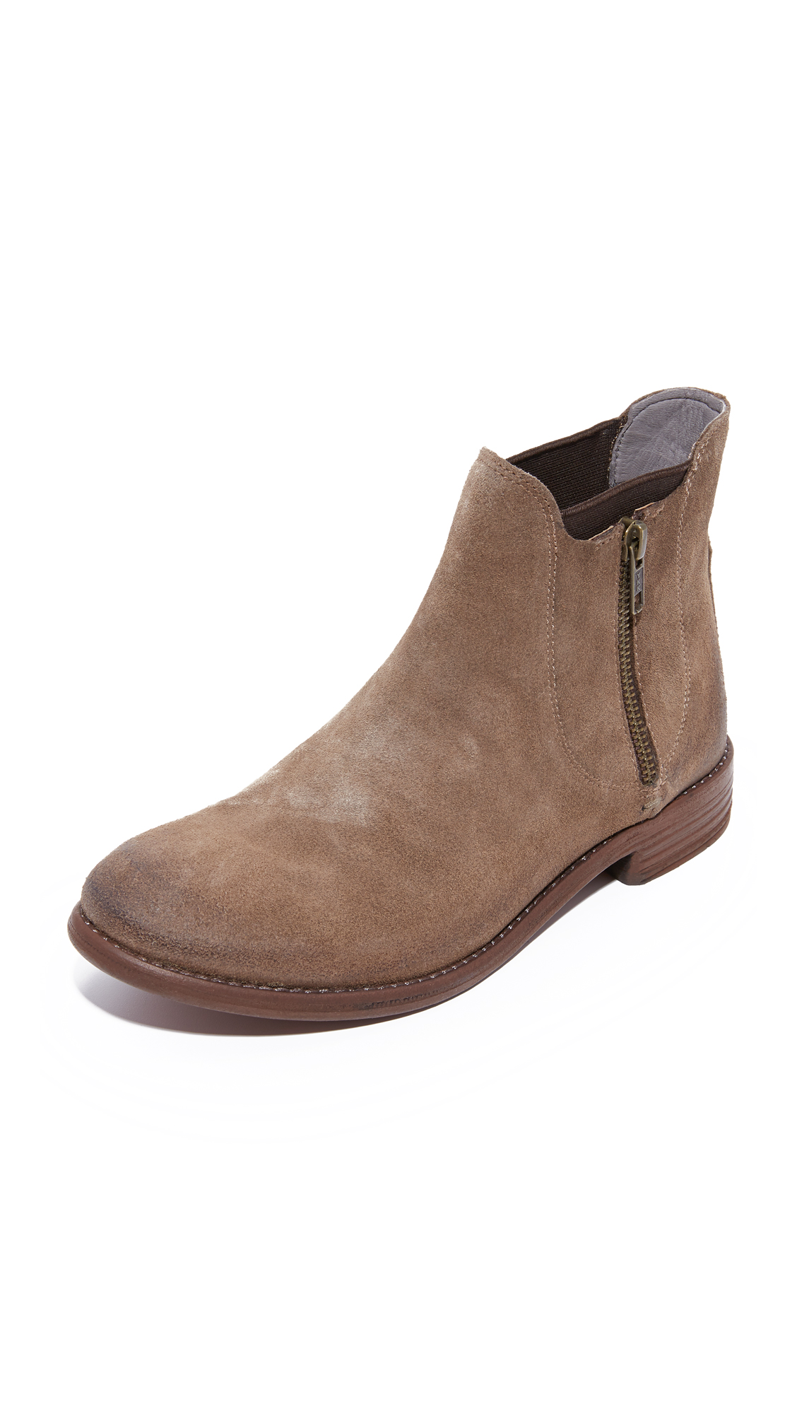 H By Hudson Algoma Booties - Taupe