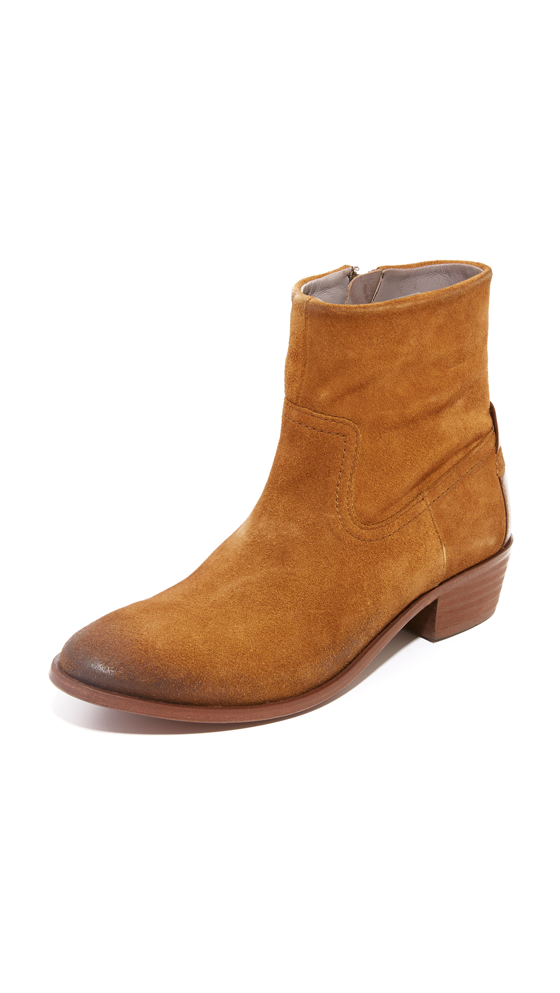 H By Hudson Laya Booties - Tan