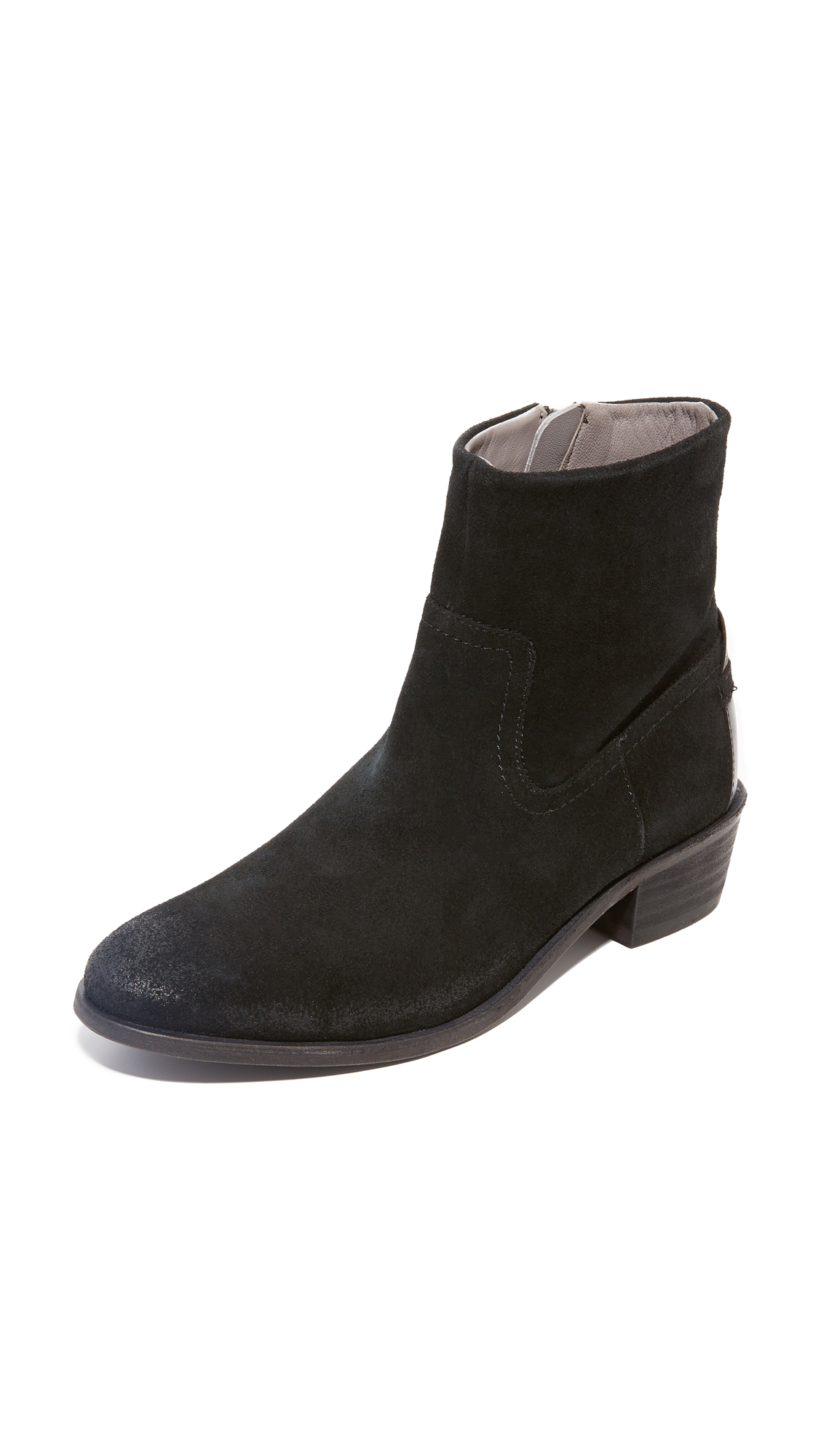 H By Hudson Laya Booties - Black