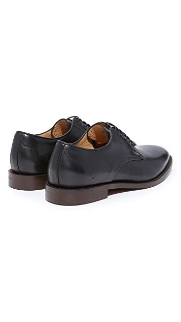 Hudson London Tomlin Calf Plain Toe Derby Shoes