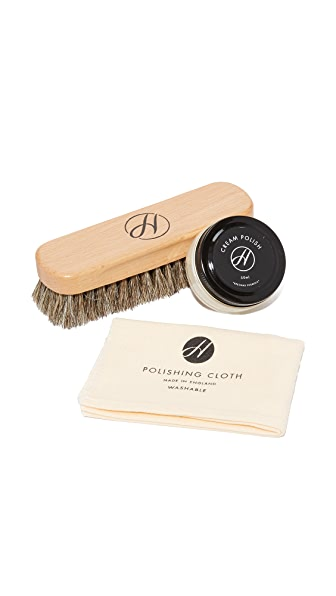 H by Hudson Neutral Shoe Care Kit